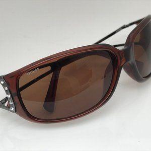 Guess Women Sunglasses Double Tortoise Brown Metal